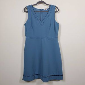Loft Sleeveless Lavender Midi Dress Size 12
